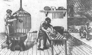 História výroby sviečok