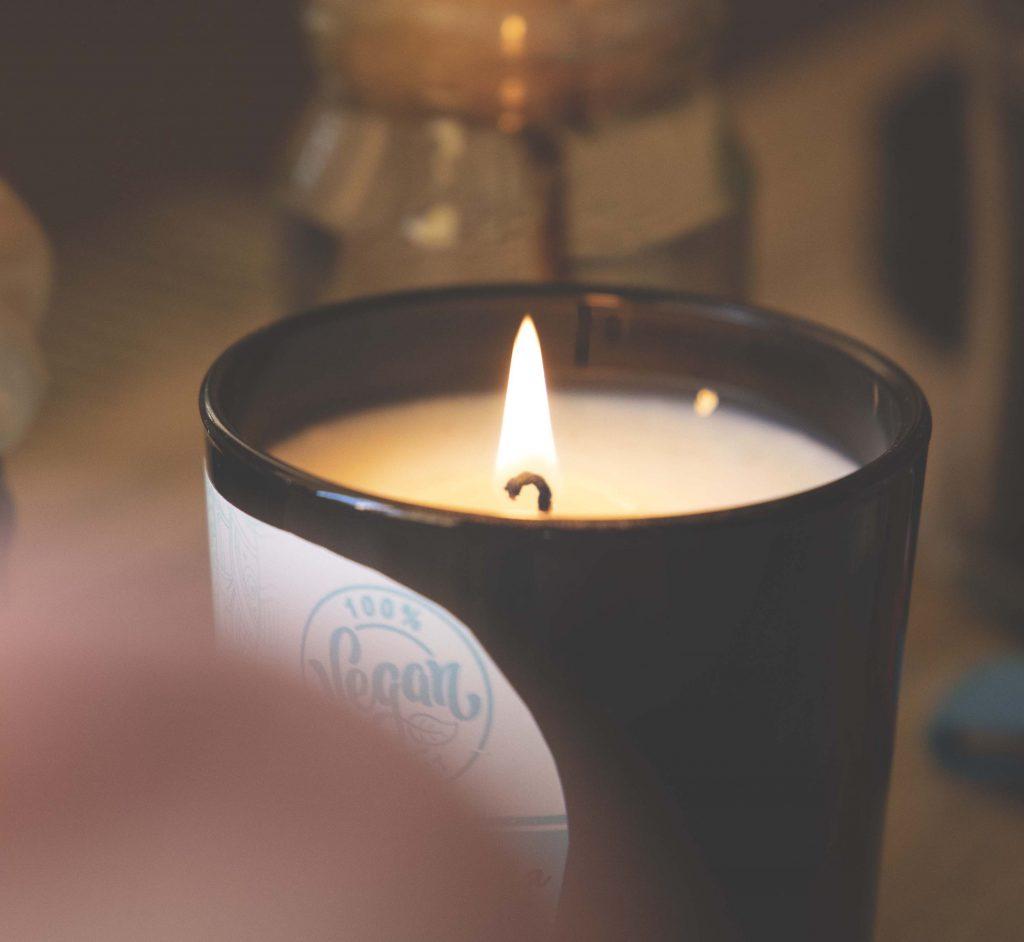 Sojová sviečka - výhody horenia