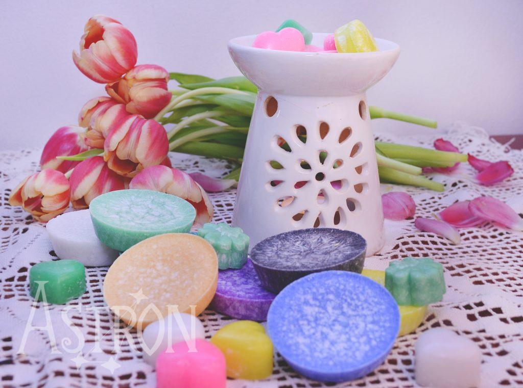 Vonné vosky v aromaterapii
